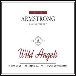 Amrstrong Family Winery 2013 Wild Angels label
