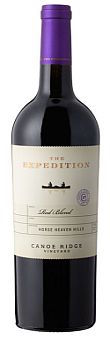 Canoe Ridge Vineyard-The Expedition Red Blend-Horse Heaven Hills-2013-Bottle