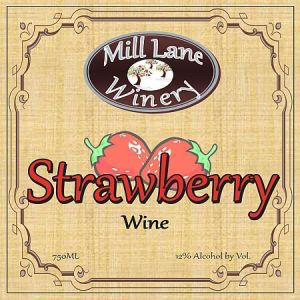 Mill-Lane-Winery-Strawberry-Washington-NV-Label