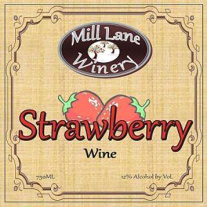 Mill-Lane-Winery-Strawberry-Washington-NV-Label