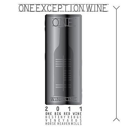 One Wines-2011-Destiny Ridge Vineyard One Exception Red Wine