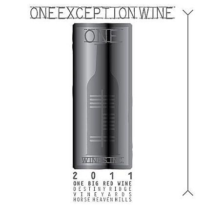 One Wines-2011-Destiny Ridge Vineyard One Exception Red Wine