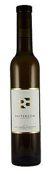 Patterson-Cellars-Late-Harvest Roussanne-2012-Bottle
