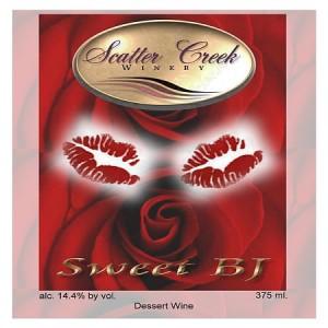 -Scatter Creek Winery-Sweet BJ-2012-Label