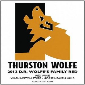 Thurston Wolfe-2012-Dr. Wolfe's Family Red
