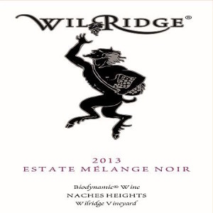 Wilridge Winery 2013 Estate Melange Noir label