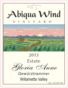 abiqua-wind-vineyard-gloria-anne-estate-gewurztraminer-2013-label