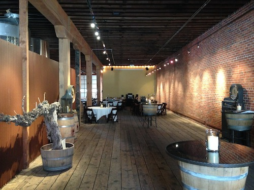 Barrister Winery is in a spacious location in downtown Spokane.