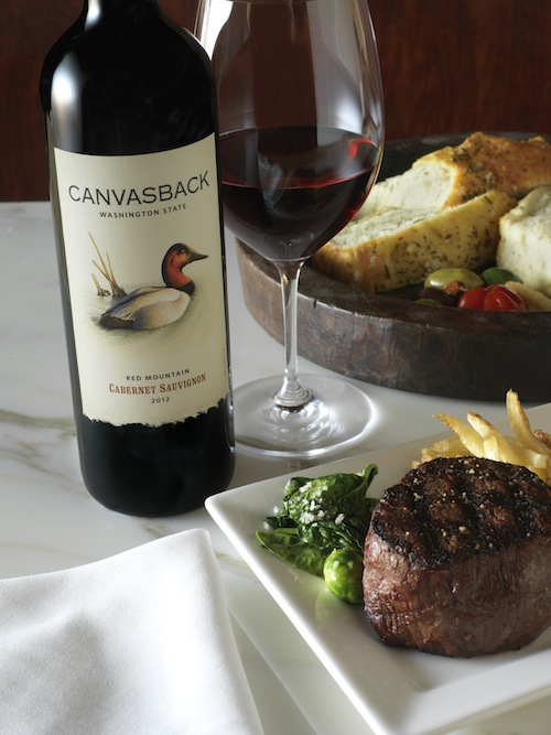 Canvasback's 2012 Cabernet Sauvignon sold out quickly after being released in 2014.