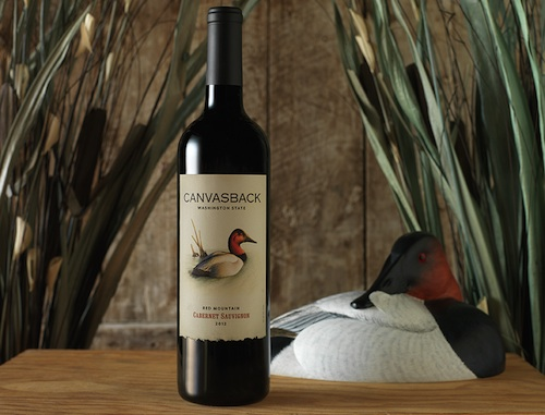 Canvasback will continue to grow its production Cabernet Sauvignon from Washington's Red Mountain.