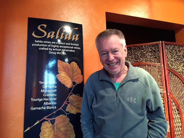Rainier, Wash., winemaker Doug McCrea works with seven grape varieties native to Spain under his young Salida Wines brand.