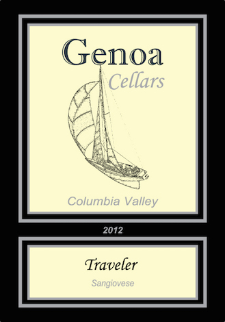 Genoa Cellars 2012 Travelers