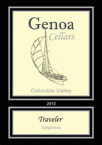 Genoa Cellars 2012 Travelers