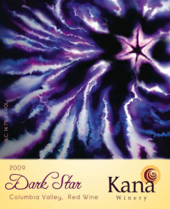 kana-winery-dark-star-2009-label