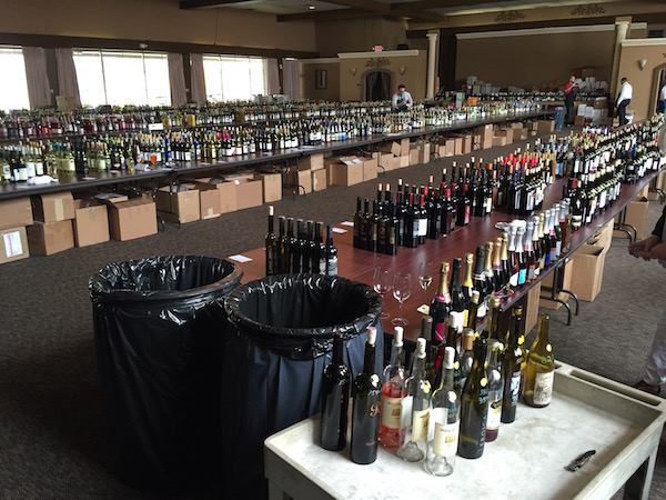 The 30th annual Pacific Rim International Wine Competition attracted more than 1,000 entries. (Photo by Eric Degerman/Great Northwest Wine)