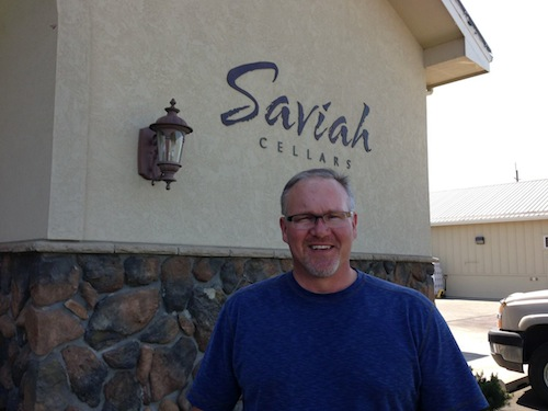 Rich Funk is owner of Saviah Cellars in the Walla Walla Valley.