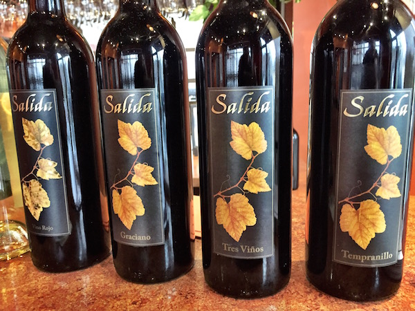 Doug McCrea's lineup of wines under his Salida brand includes single-variety bottlings of Graciano and Tempranillo as well as Spanish-inspired blends.