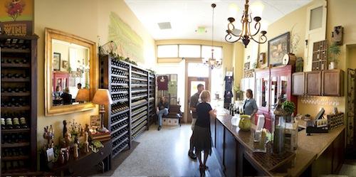 Trio Vintners tasting room is inside the Marcus Whitman Hotel.