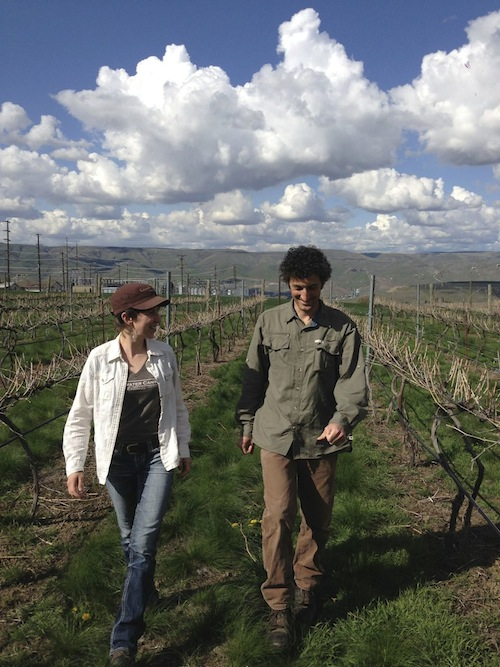 Coco and Karl Umicker own Clearwater Canyon Cellars in the proposed Lewis-Clark Valley AVA.