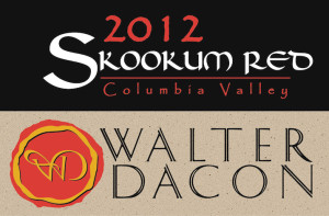 Walter Dacon Wines 2012 Skookum Red label