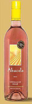 Abacela-2014-Grenache Rosé Bottle