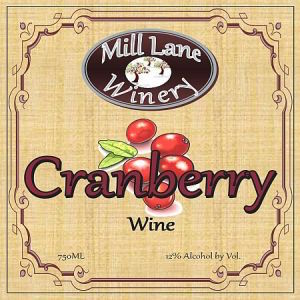 Mill-Lane-Winery-Cranberry-Washington-NV-Label