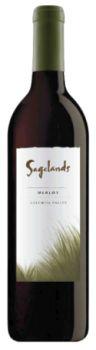 Sagelands Vineyard-2012-Merlot Bottle