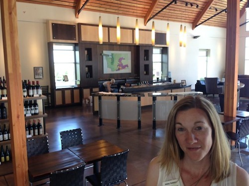 The Walter Clore Center in Prosser, Washington, is home to a spacious tasting room.