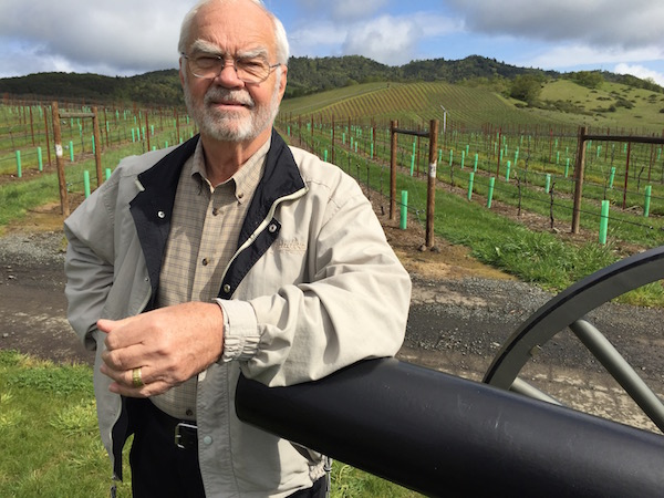 Earl Jones was working as a research dermatologist in the Gulf Coast when he purchased land in Oregon's Umpqua Valley in 1992. (Photo by Eric Degerman/Great Northwest Wine)