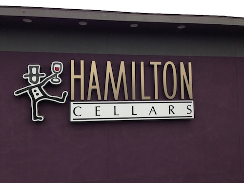 Hamilton Cellars is on Washington state's Red Mountain.