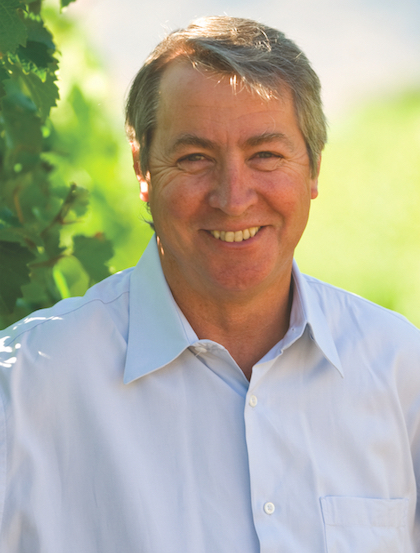 John Simes, head winemaker for Mission Hill Family Estate since 1992, is leaving the cellar to oversee the vineyards for winery owner Anthony von Mandl.