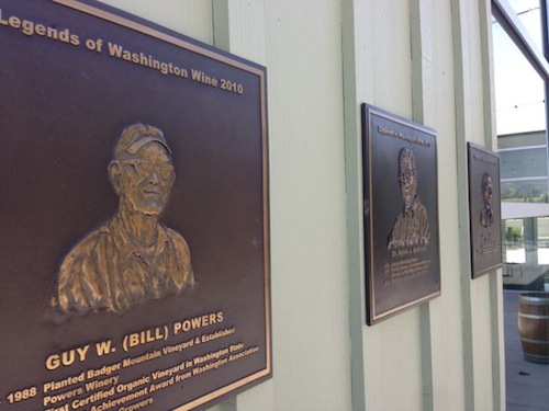 The Legends of Washington Wine Hall of Fame is in the Walter Clore Center in Prosser, Washington.