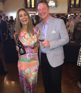 Patricia Dobbes and her winemaking husband, Joe Dobbes, participate in Uncorked! A Wine Auction on May 16, 2015 at Zenith Vineyards in Salem, Ore. (Photo courtesy of Dobbes Family Estate)