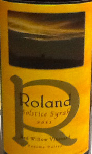 roland-wines-red-willow-vineyard-solistice-syrah-2011-label
