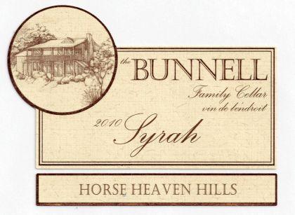 Bunnell Family Cellar-2010-Syrah Horse HH