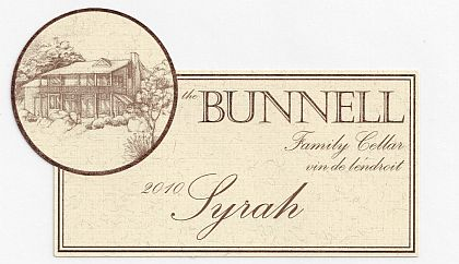 Bunnell Family Cellar-2010-Syrah Red Mountain