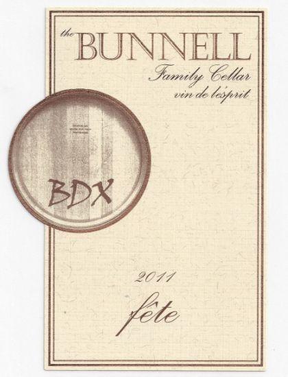 Bunnell Family Cellar-2011-Fête