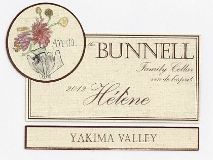 Bunnell Family Cellar-2012-Hélène