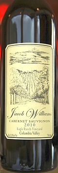 Jacob Williams Winery-2010-Eagle Ranch Vineyard Cabernet Sauvignon