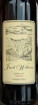 Jacob Williams Winery-2010-Merlot
