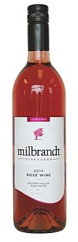 Milbrandt Vineyards-2014-Traditions Rosé Bottle