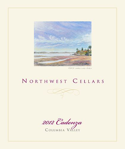 Northwest Cellars-2012-Cadenza