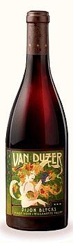 Van Duzer Vineyards-2012-Dijon Blocks Pinot Noir Bottle