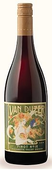 Van Duzer Vineyards-2012-Pinot Noir Bottle