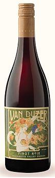 Van Duzer Vineyards-2012-Pinot Noir Bottle