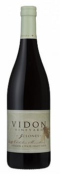 Vidon Vineyard-2011-3 Clones Pinot Noir Bottle
