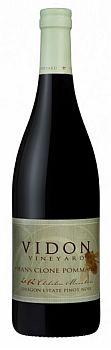 Vidon Vineyard-2012-Hans Clone Pommard Pinot Noir Bottle