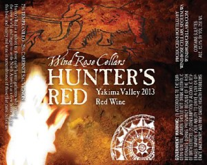 Wind Rose Cellars-2013-Hunter's Red