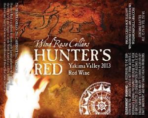 Wind Rose Cellars-2013-Hunter's Red