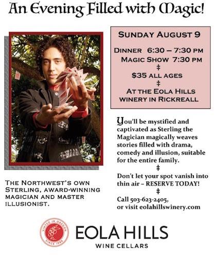 eola-hills-wine-cellars-magic-show-poster-2015